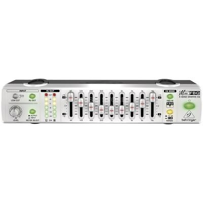 "Behringer - FBQ800 Mini 9,5"" Grafik Equalizer"