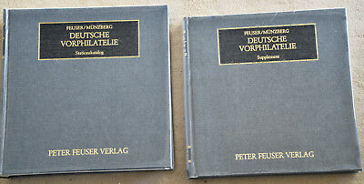 Deutsche Vorphilatelie Stationskatalog & Supplement - Feuser/Münzberg