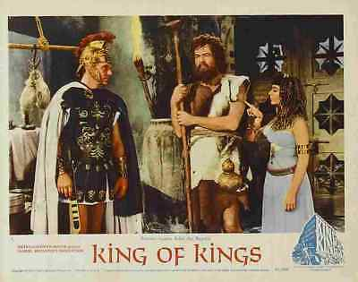 King of Kings 1961 27 Film A3 Box Canvas