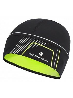 Ronhill Run Beanie Outdoor Running Training Hat Cap Thermal & Reflective