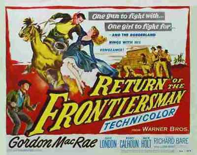 Return of the Frontiersman 02 Film A3 Box Canvas