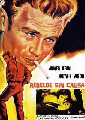 Rebel Without a Cause 06 Film A3 Box Canvas