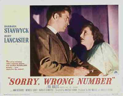 Sorry Wrong Number 07 Film A3 Box Canvas