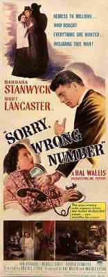 Sorry Wrong Number 03 Film A3 Box Canvas