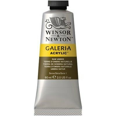 Winsor And Newton Galeria Acrylic Paint Tube - Raw Umber - 60ml Colours Artists