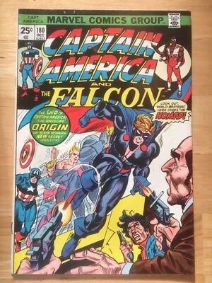 Captain America #180 - Bronze Age Key Issue - 1st Appearance of Nomad