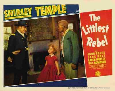 Littlest Rebel The 1935 07 Film A3 Box Canvas