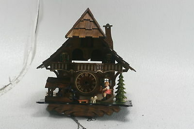 Cuckoo Clock Quartz Movement Chalet Style 32cm Engstler Authentic German Made