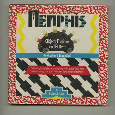 1986 Ettore Sottsass MEMPHIS: OBJECTS FURNITURE & PATTERNS Italian Design HC Bk