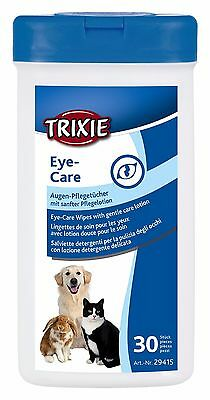29416  Dog Cat & Rabbit Trixie Pet EAR Care Wipes - 30 Pack