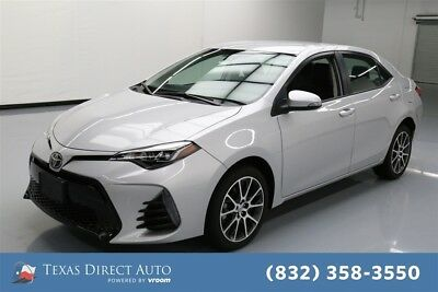 Toyota Corolla SE 4dr Sedan CVT Texas Direct Auto 2017 SE 4dr Sedan CVT Used 1.8L I4 16V Automatic FWD Sedan