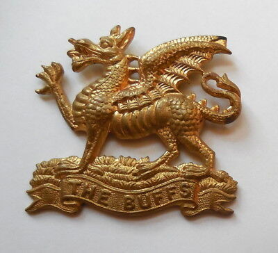 World War II era British Royal East Kent Regiment Cap Badge Good Condition