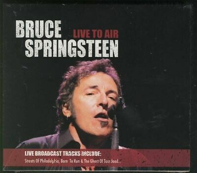 BRUCE SPRINGSTEEN Live To Air SEALED DOUBLE CD FREEPOST WORLDWIDE