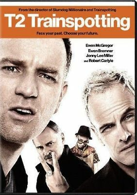 T2 Trainspotting: New Sealed, DVD, Includes The Movie + Deleted Scenes & More
