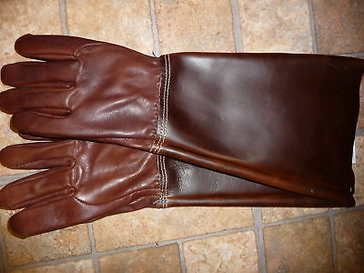 #7999 Medium Goat skin Leather Rose or Gardening Gloves Made in the USA