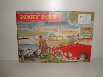 1963 Dinky Toys Catalogue-Canada/english Edition (No Price List)