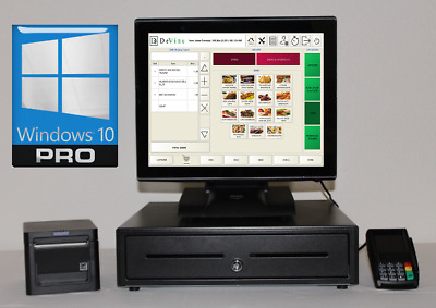 New Restaurant  Point of Sale system // Integrated CC Terminal Printer