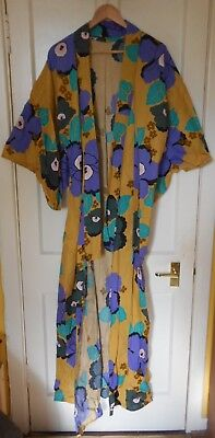 Vintage Authentic Japanese Kimono Large size