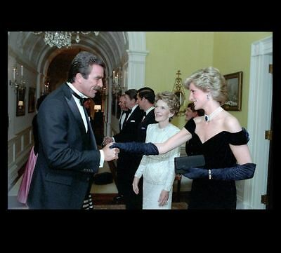 Princess Diana PHOTO Meets Tom Selleck, Blue Bloods Magnum P.I. TV Show Star