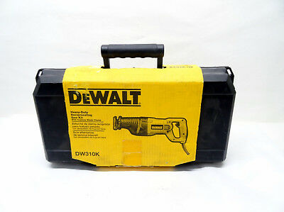 DeWALT DW310K Reciprocating Recip Saw Tool 4/L122766B