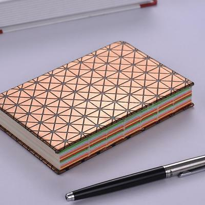Notebook Blank/Colored Paper Notepad Hard Cover Journal Writing Diary Note I5K3