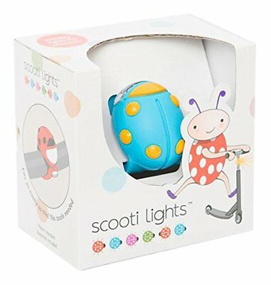 Buggi Lights BUGGISCOOTBOS - Luces LED, color azul y naranja