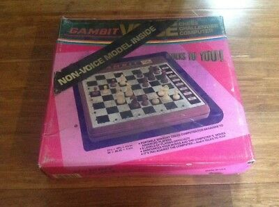 Vintage Gambit Chess Challenger Computer..Free Post