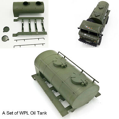 Green WPL Remote Control Remodel Simulation Train Oil Transportation Tank Model