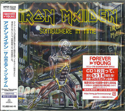 Iron Maiden-Somewhere In Time-Japan Cd C68