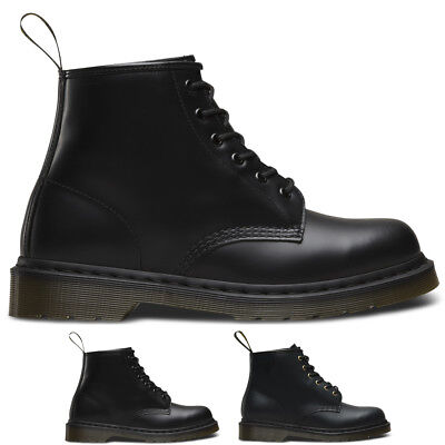 Unisex Adults Dr Martens 101 Smooth Originals Core Army Biker Boots All Sizes