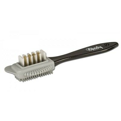 Tandy Leather Suede Cleaning Brush 2940-00 - Dasco Multi Applicator