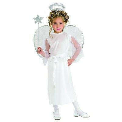 Angel S - Costume Christma Fancy Dres Nativity Girl Outfit Child Gabriel Play