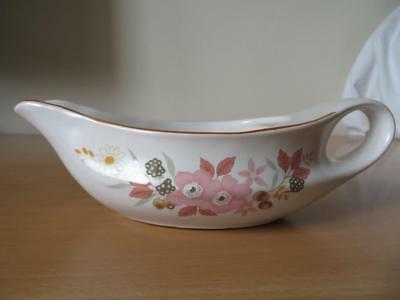 Boots Hedge Rose Oven To Tableware Gravy/sauce Boat V.g.cond