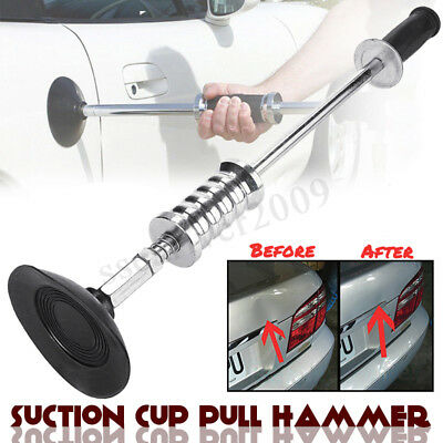 Car Body Repair Air Pneumatic Dent Puller Suction Cup Slide Manual Pull Hammer