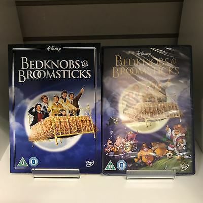 Bedknobs and Broomsticks DVD + Collectable Sleeve - New and Sealed Free Postage