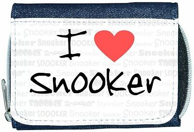 Personalised Mens Wallet SNOOKER Pool Dad Grandad Father Day Birthday Gift SH193