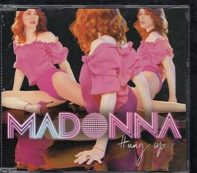 MADONNA Hung Up 3 TRACK  EU REMIX CD SINGLE