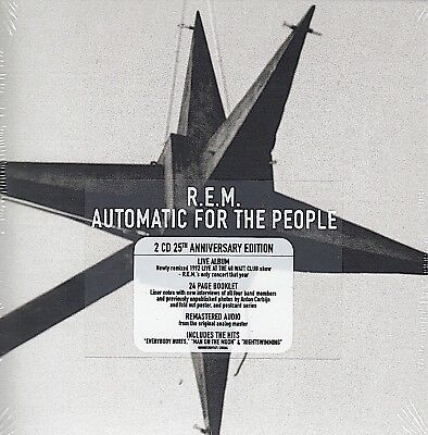 R.E.M. / Automatic for the People + Live (25th Anniversary, 2 CDs NEU! OVP,NEW)