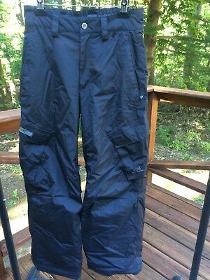 c67db820 Helly Hansen Tech Kid 16 Waterproof Nylon Insulated Snow Ski Pants Barely  Worn