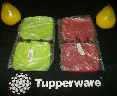 Tupperware 2 NEW Square Round Freeze It! Replacement Seals ~GREEN or BLUE
