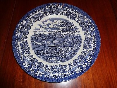Hostess Tableware England OLD COUNTRY CASTLES Blue And White Dinner Plate