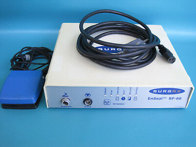 SurgRx EnSeal RF-60  with Foot-Switch