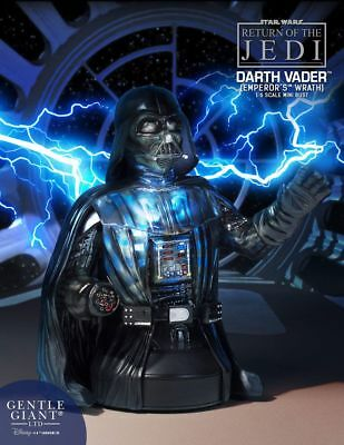 Gentle giant Star Wars Episode VI Büste 1/6 Darth Vader Emperor's Wrath 17 cm