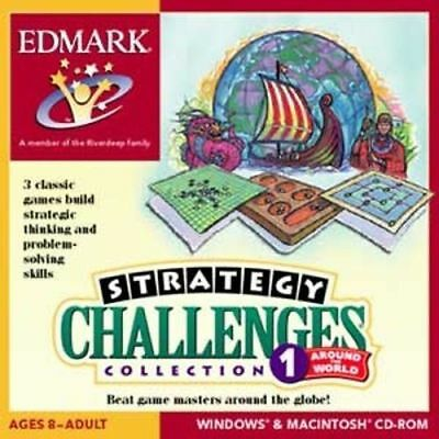 Age 8+ STRATEGY CHALLENGES COLLECTION 1 New for PC MAC Sealed