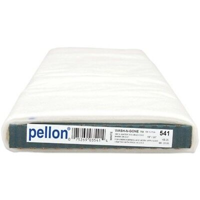 Pellon Wash-n-gone Stabilisator 19 Zoll x 25 Yd. Klar (25 Yards) - Washngone