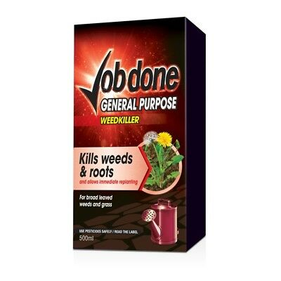 Job Done General Purpose Weedkiller, 500ml Concentrate