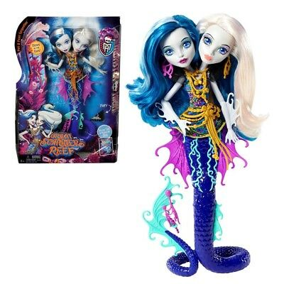 Peri & Pearl Serpentine | Mattel DHB47 | Great Scarrier Reef | Monster High Doll