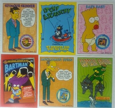 THE SIMPSONS Series 2 Trading Card Set of 80 SKYBOX  1994