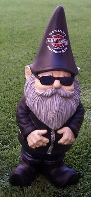 "Garden Accent Extra Large Purple Gnome NEW Freestanding 10/"" tall"