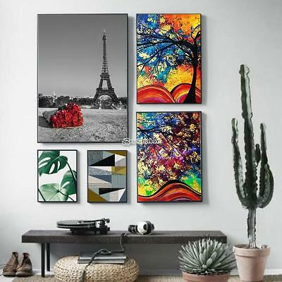 3 Sizes Canvas Modern Home Wall Decor Art Oil Painting Picture Print Unframed